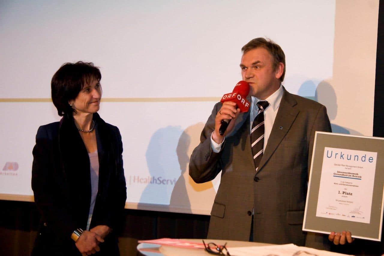 Sieger Ideen Wettbewerb Gandler Risk Management (2010)